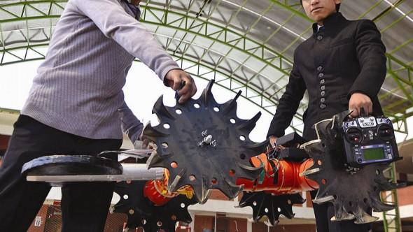 Un robot de Viacha es elegido para una competencia mundial