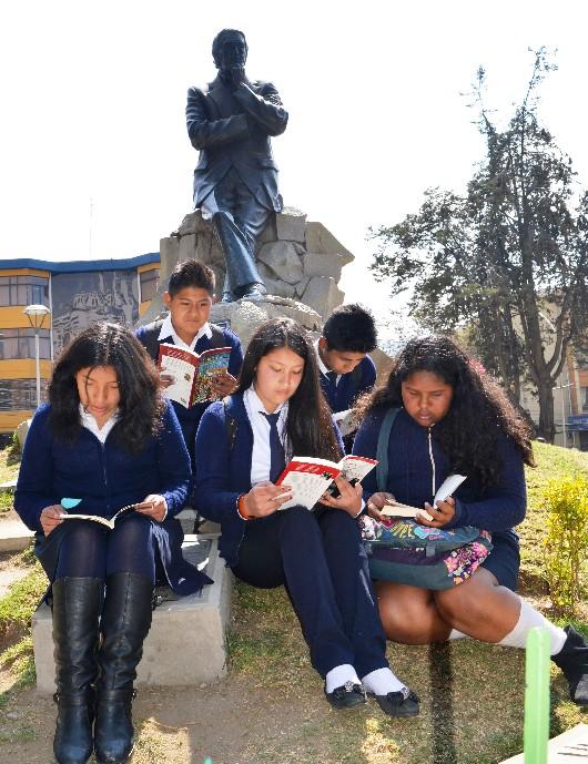 Bolivia celebró el Día Plurinacional de la lectura