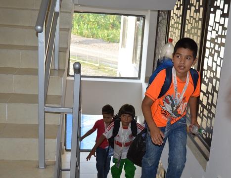Centro de Alto Rendimiento con moderna infraestructura recibió a estudiantes deportistas del nivel primario
