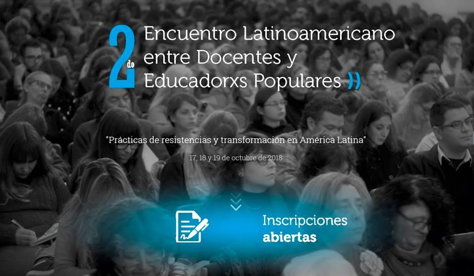 2do. Encuentro Latinoamericano entre Docentes y Educadorxs Populares