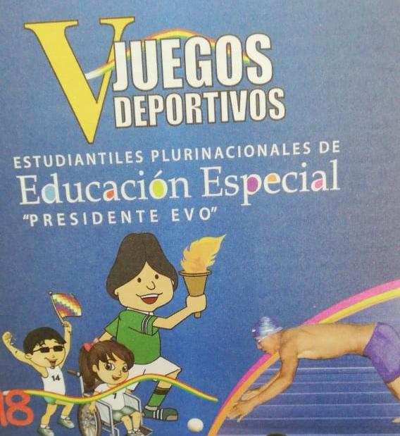 Oruro vibrará con los V Juegos Deportivos Estudiantiles de Educación Especial