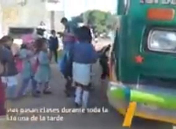 Viaje a Santiváñez: la odisea de 120 niños para acceder a la educación