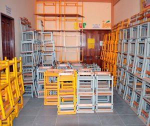 Mobiliario para colegios del Distrito 8