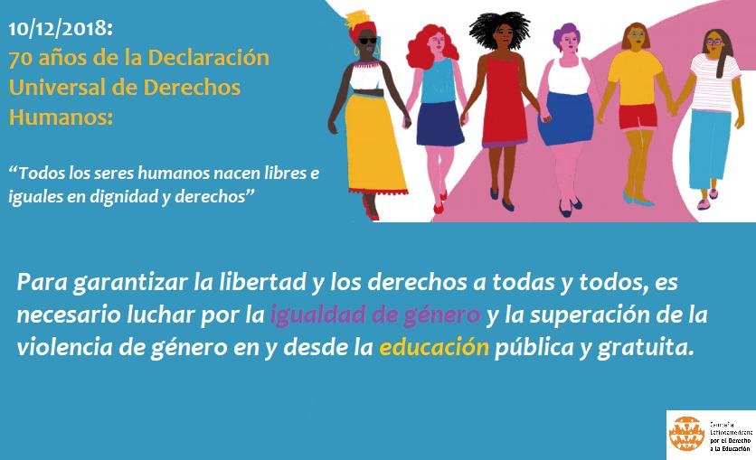 Encuentro Centroamericano sobre Igualdad de Género, Violencia y Educación: Declaración Final