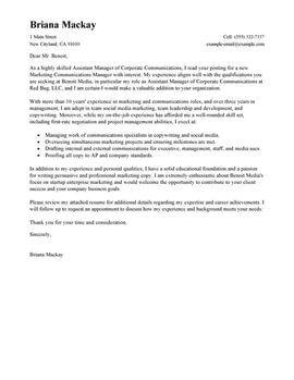 Restaurant Manager Cover Letter Exle