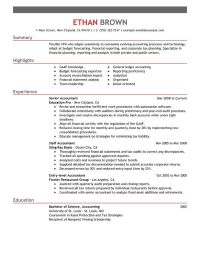 Accountant Resume Sample - My Perfect Resume