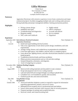 Impactful Professional Construction Resume Examples & Resources