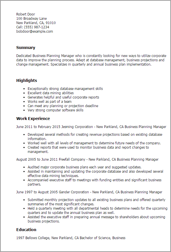 Resume Samples For Experienced Marketing Executive Latest Cv