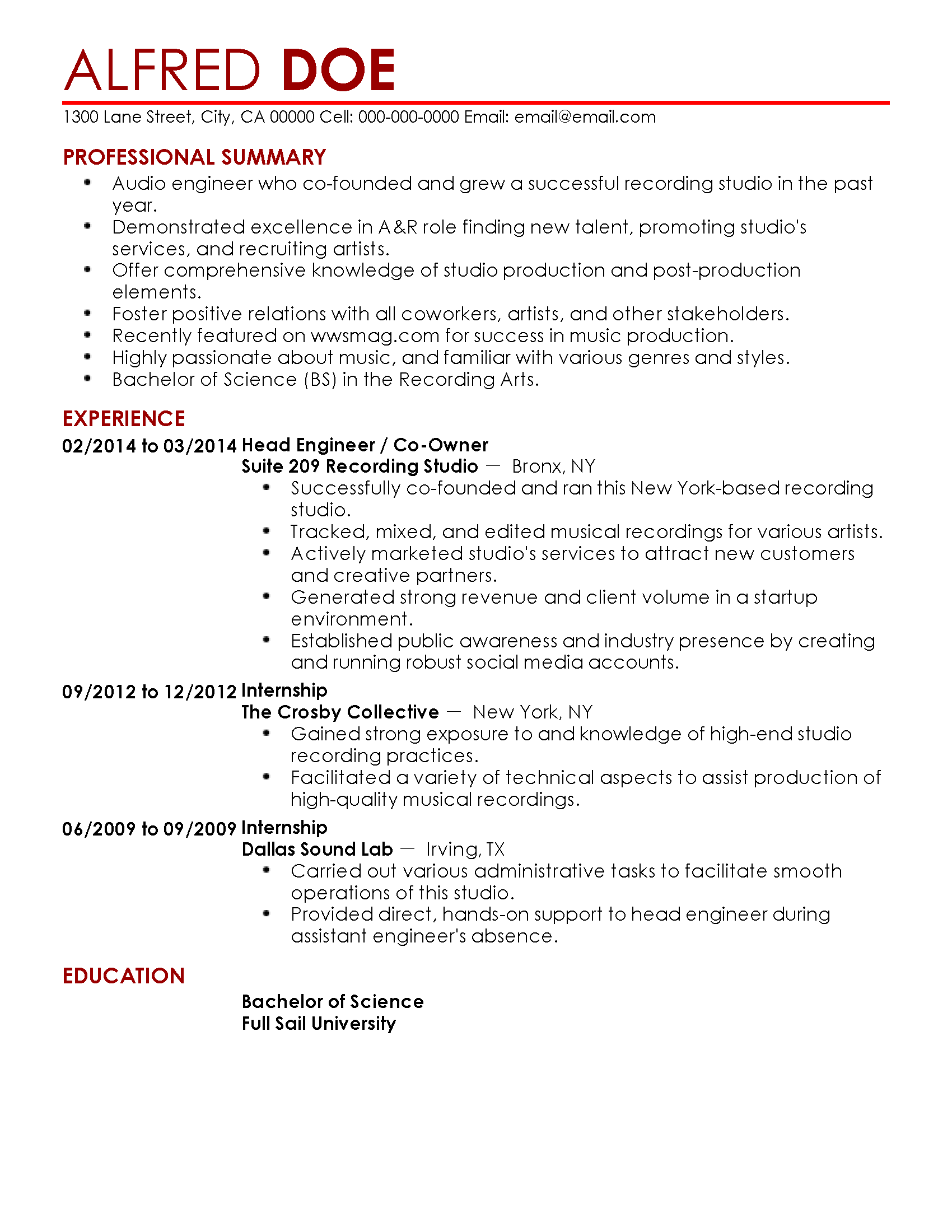 Cprw Resume Professional Resume For Adrian Grossman My Perfect Resume