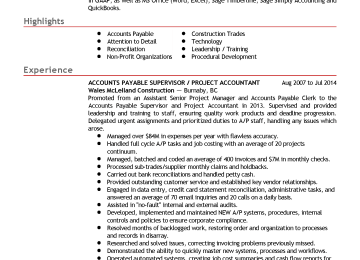 Supervisory Accountant Cover Letter | International Accountant Cover ...
