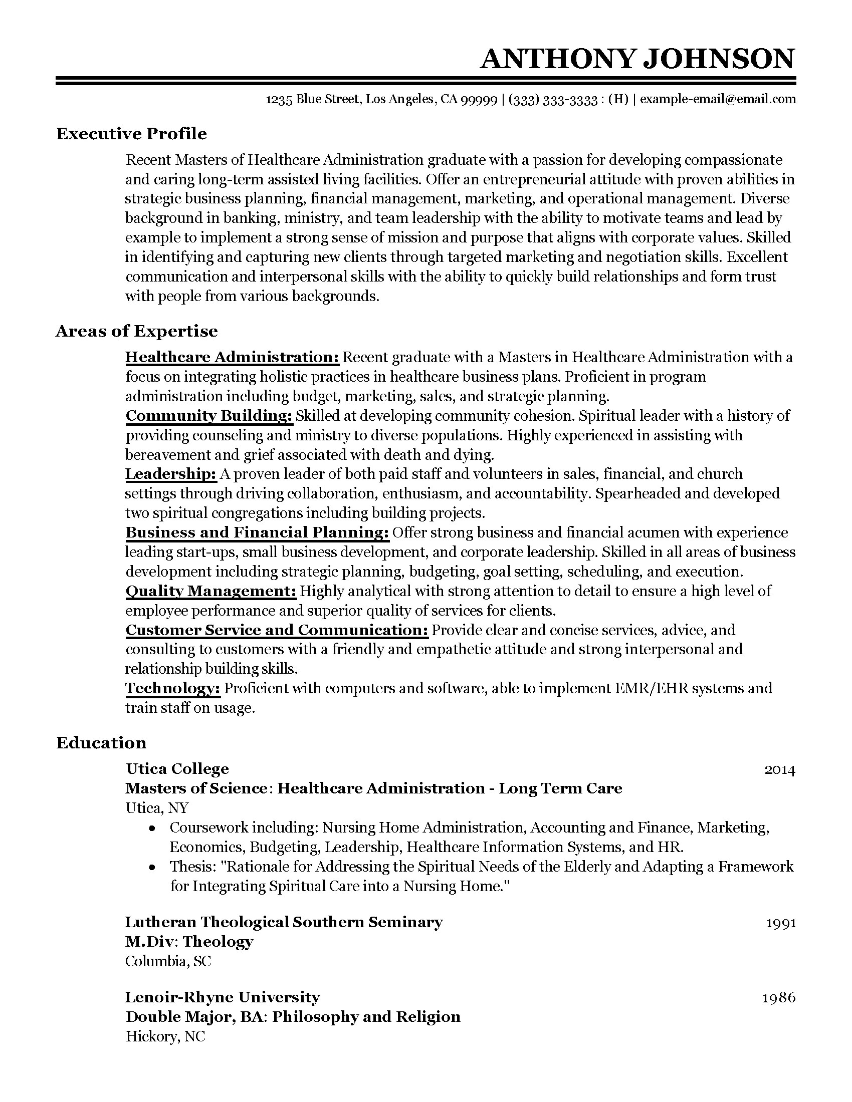 sample resume software engineer one year experience help writing - Resume Objective Entry Level Healthcare