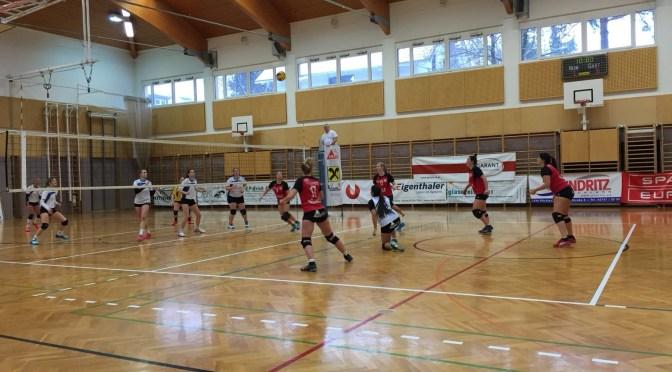 11teamsports 1. NÖ Landesliga Damen / Nibelungengau – Böheimkirchen 0:3