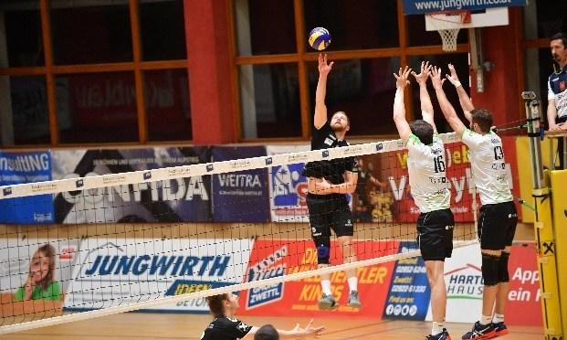 Volley League Men 1. Halbfinale / Spiel mit Hochspannung endet mit Sieg für die Nordmänner