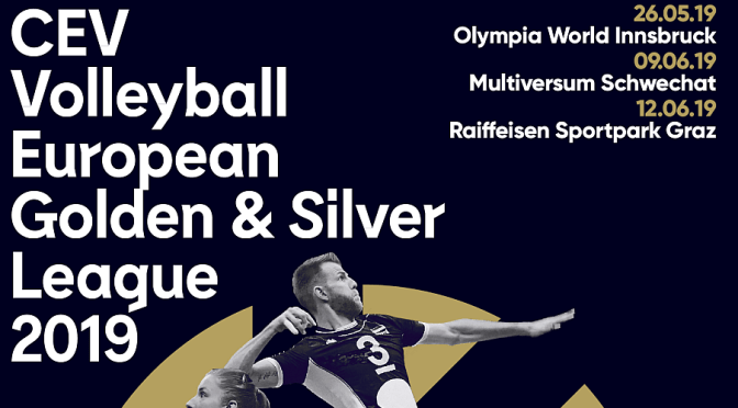 TICKETINFO – CEV Volleyball Golden & Silver European League 2019