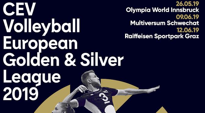 TICKETINFO – CEV Volleyball Golden & Silver European League 2019