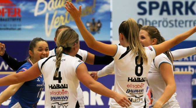 Volley League Women / Damenfinals in Amstetten