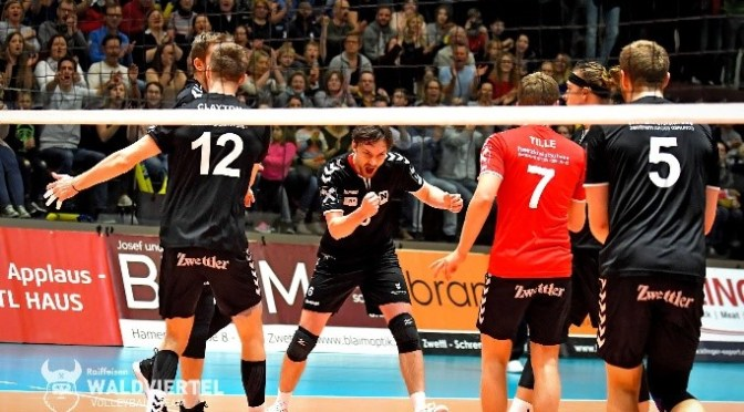 Volley League Men Finale / Enges drittes Finalspiel