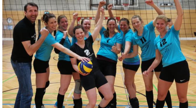 11teamsports 1. NÖ LL Damen / Landesmeistertitel an Sportunion Langenlebarn