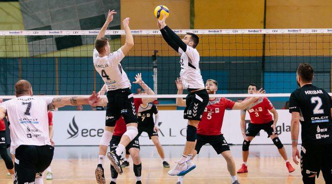 MEVZA Cup MEN / Sensationeller 3:0-Erfolg gegen Calcit Kamnik