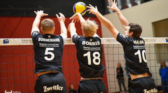Volley League MEN / Schwerer Sieg gegen den Aufsteiger Sokol
