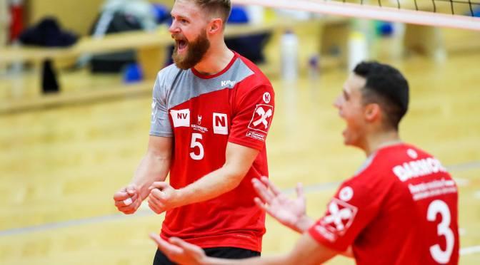 Volley League MEN / 2020 werden die Karten neu gemischt