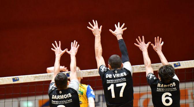 Volley League MEN / Hochspannung im letzten Spiel der Setzrunde