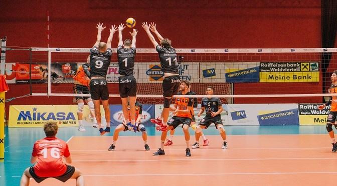 Volleyleague men / URW schließt Toprunde mit einem souveränen Sieg ab