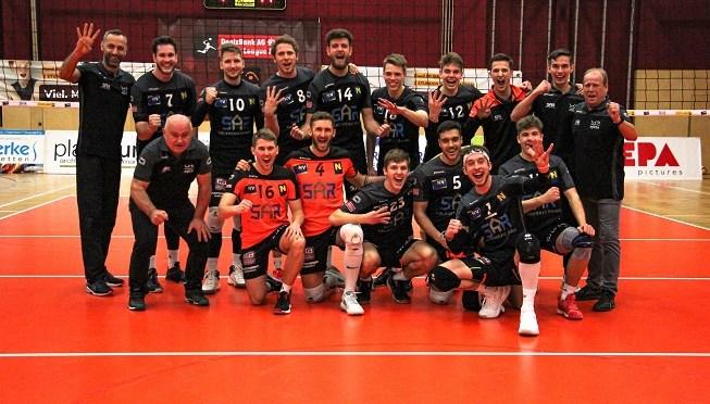 Volley League Men / VCA Amstetten NÖ fixiert Semifinaleinzug mit 3-1 Heimsieg