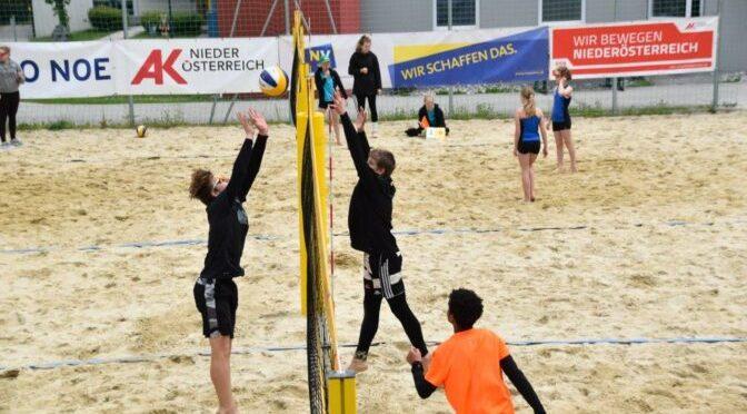 Hypo NÖ Junior BeachSeries presented by NÖ Versicherung / U15 Turnier in Schottwien