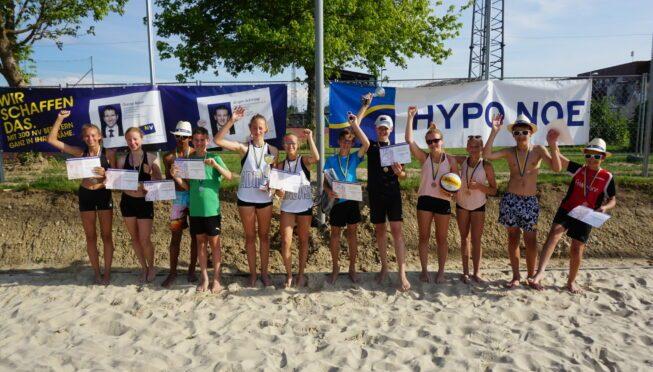 NÖ Beach Landesmeisterschaften U15 in Hollabrunn – presented by HYPO NOE & NÖ Versicherung