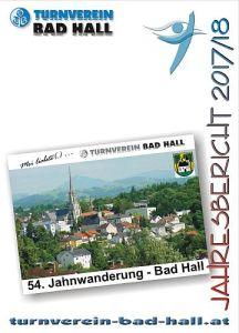 Jahresbericht TV Bad Hall  2017 - 2018