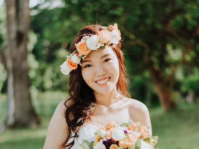 10 types of flower crowns to brighten up your wedding look