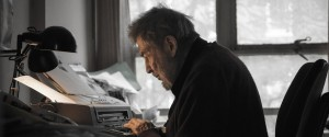 Hentoff at work in Greenwich Village