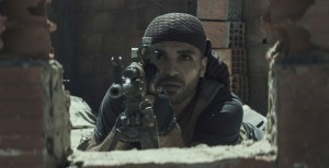 Sammy Sheik, as Al Qaeda sniper Mustafa