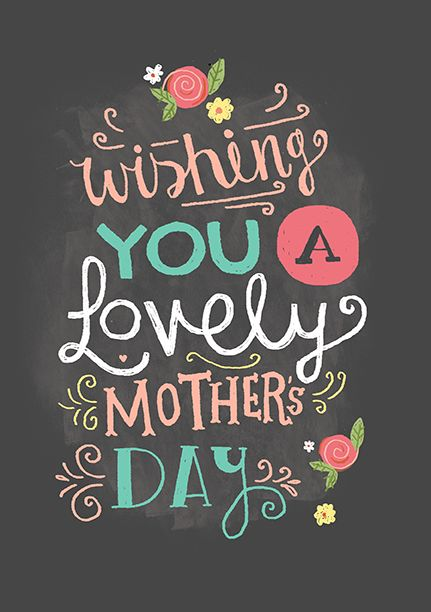 Wishing You A Lovely Mothers Day Kristy Robinett