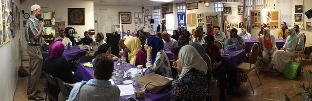 A Quranic Arabic class in session. Photo: Fawakih Institute