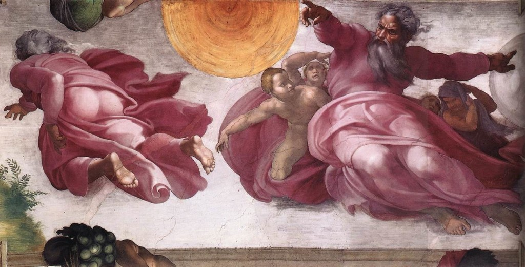 Creation of the Sun, Sistine Chapel