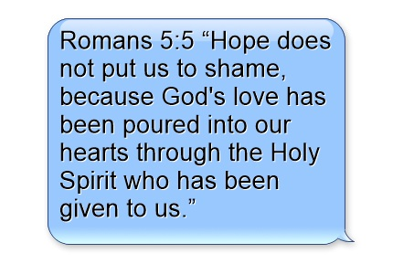 Image result for hope bible verses time romans hearts