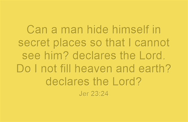 Image result for hiding from god bible verses