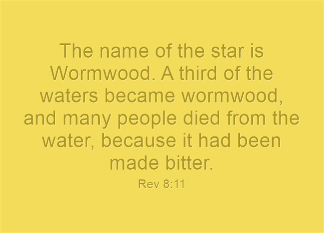 Image result for wormwood meaning
