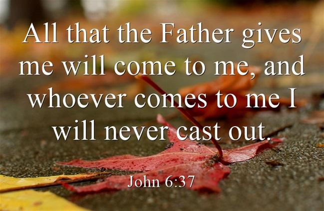 Image result for pic john 6:37