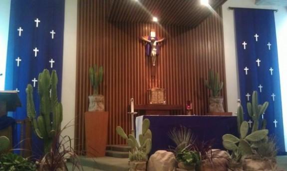 Altared states liturgical decoration for Lent  Deacon