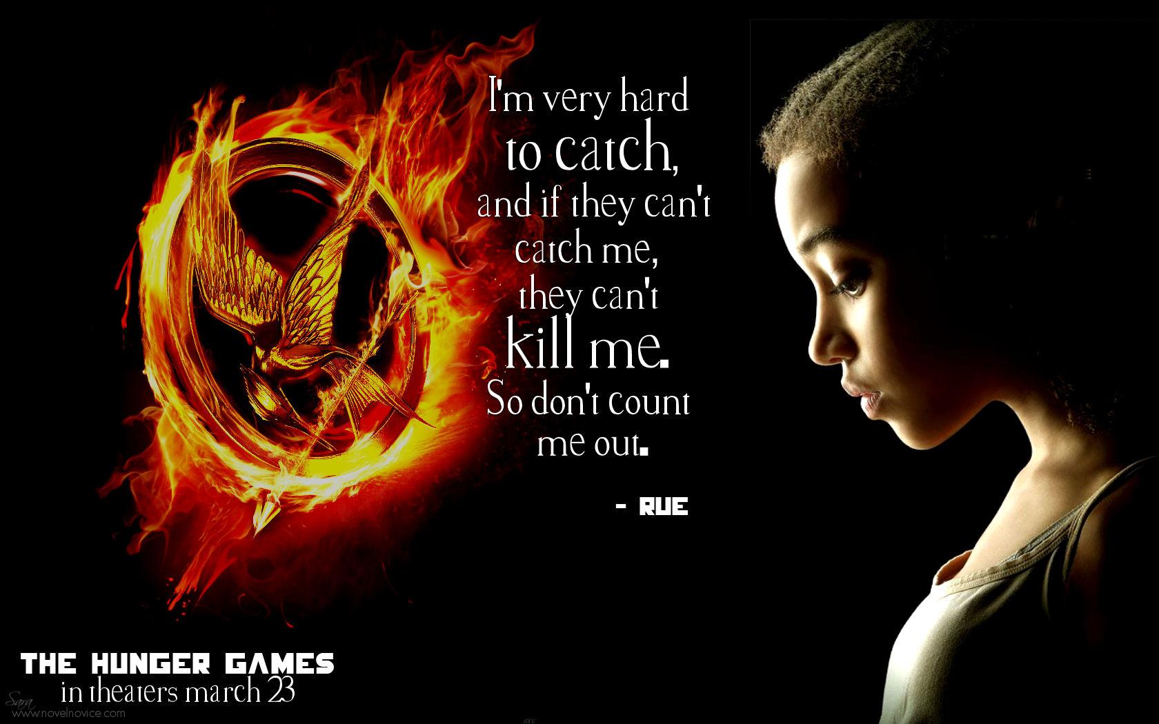 The Hunger Games Black Rue District 11 Amp Trayvon Martin