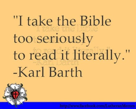 Image result for taking the bible literally