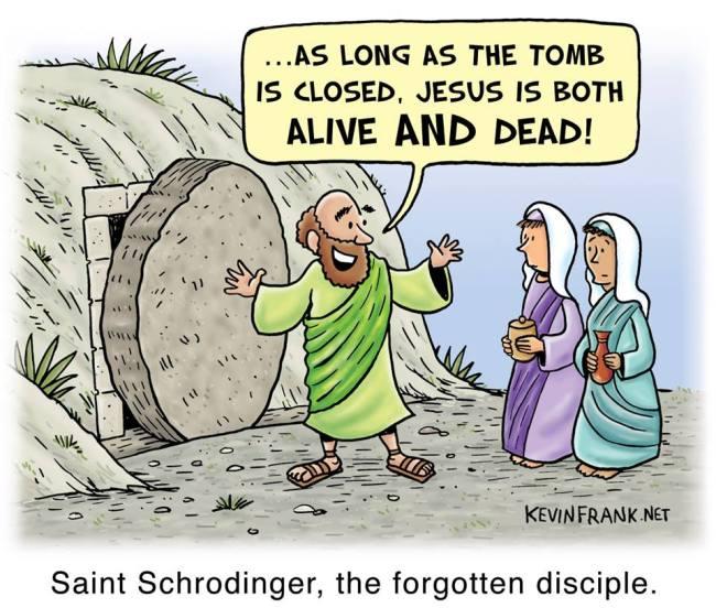 Saint Schrödinger