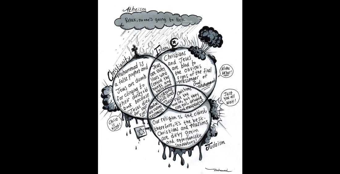 christianity vs islam venn diagram toyota tundra speaker wiring of judaism and - gagna.metashort.co