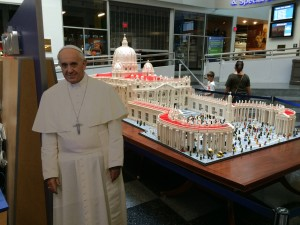 Franklin Institute: Lego Vatican!