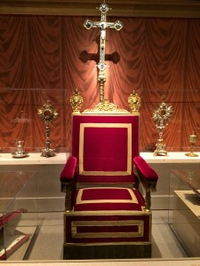 Papal throne of Pius XI