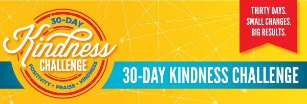 Join My 30 Day Kindness Challenge!