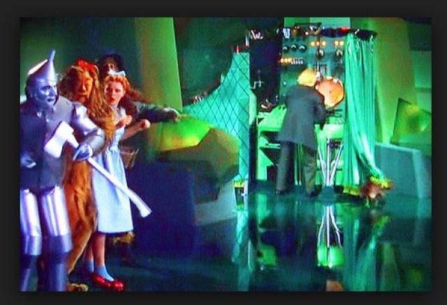 Oz Dorothy curtain